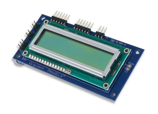 Pmod CLS: LCD-Modul mit serieller Schnittstelle