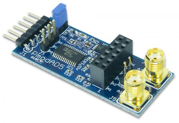 Pmod AD5: 4-Kanal 4.8 kHz 24-Bit A/D-Wandler