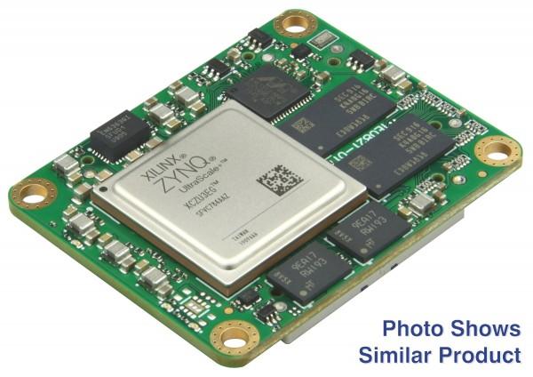 MPSoC-Modul mit Xilinx Zynq UltraScale+ ZU4EV-1E, 4 GB DDR4 SDRAM, low profile