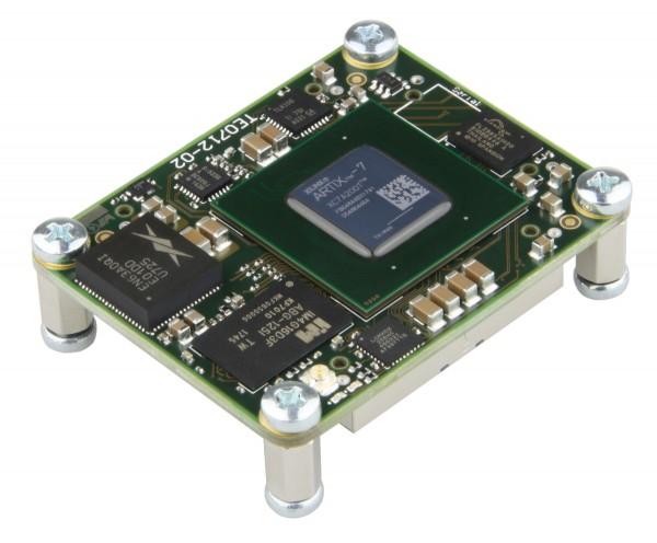 FPGA Module with Xilinx Artix-7 XC7A200T-2FBG484C, 1 GByte DDR3, 4 x 5 cm