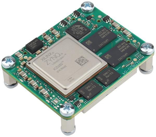 MPSoC-Modul mit Xilinx Zynq UltraScale+ ZU2EG-1I, 2 GByte DDR4 SDRAM, 4 x 5 cm