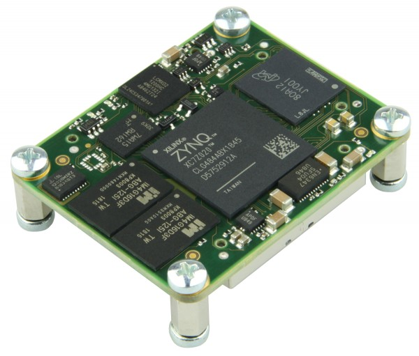 SoC Module with Xilinx Zynq XC7Z020-2CLG484I (ind. Temp.Bereich), 1 GByte