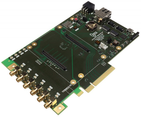 PCIe Baseboard für Trenz Electronic TE0835 RFSoC