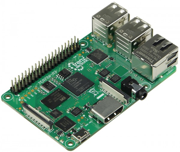 """""""ZynqBerry"""" - Zynq-7010 in Raspberry Pi form factor"""