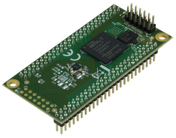 FPGA Module with Xilinx Artix-7 100T (Variante 2D), 2 x 50 Pin, 1.8V, industrial