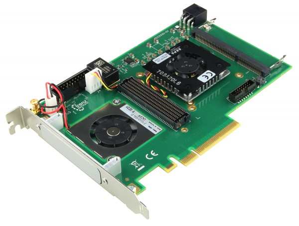 PCIe FMC-Carrier mit Xilinx Virtex-7 FPGA, 8 Lane PCIe GEN2, SO-DIMM SDRAM