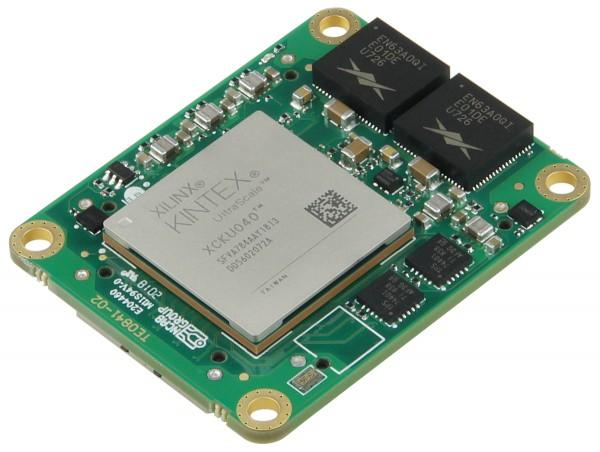 Micromodule with Xilinx Kintex UltraScale KU040, 2 GB DDR4, 4 x 5, low profile