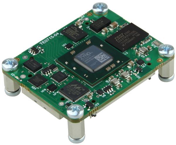 SoC-Modul mit Xilinx Zynq 7030-1I, 1 GByte DDR3L, 4 x 5 cm