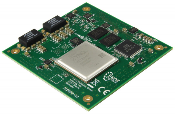 High-Performance Xilinx Zynq Z-7045-Modul, 1 GByte DDR3, 8,5 x 8,5 cm