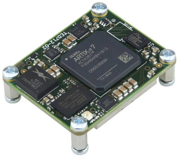 FPGA-Modul mit Xilinx Artix-7 XC7A35T-2FGG484I, 1 GByte DDR3, 4 x 5 cm