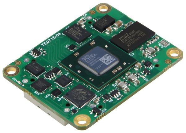 SoC-Modul mit Xilinx Zynq 7030-1I, 1 GByte DDR3L, 4 x 5 cm, low profile