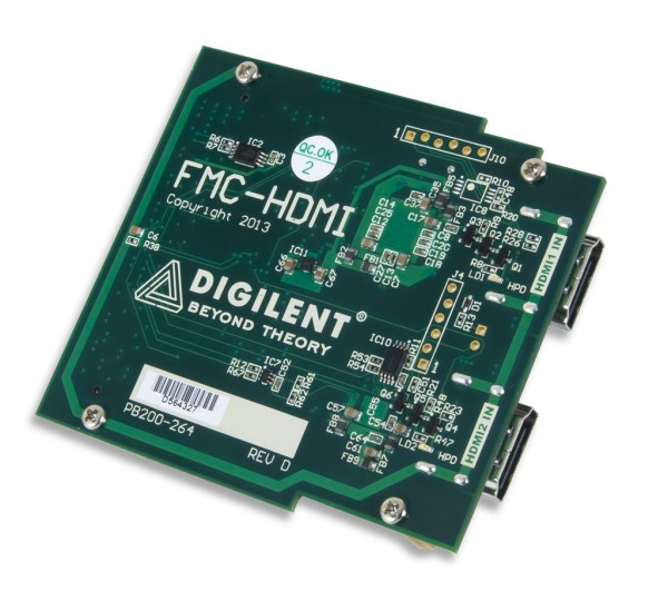 FMC-HDMI: Dual HDMI Input Expansion Card