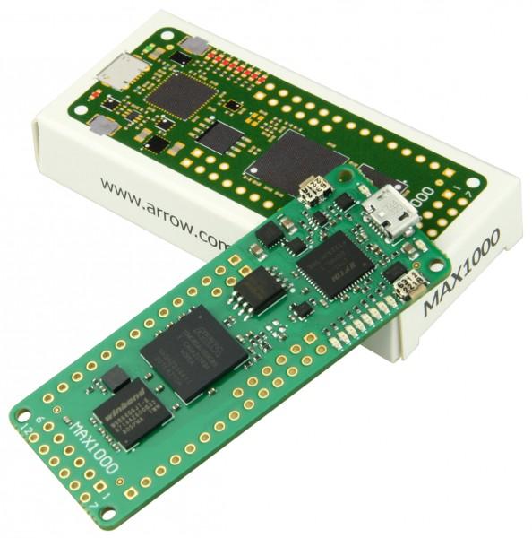 Trenz Electronic TEI0001-03-08-C8 - MAX1000 - IoT Maker Board, 8KLE, 8 MByte RAM