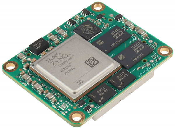 MPSoC-Modul mit Xilinx Zynq UltraScale+ ZU2EG-1I, 2 GByte DDR4, 4 x 5 cm, LP