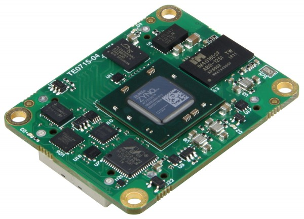 SoC Module with Xilinx Zynq XC7Z030-1SBG485I, 1 GB DDR3L, 4 x 5 cm, low profile
