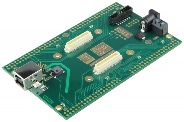 Carrier Board with unsoldered headers for TE0300/TE0630