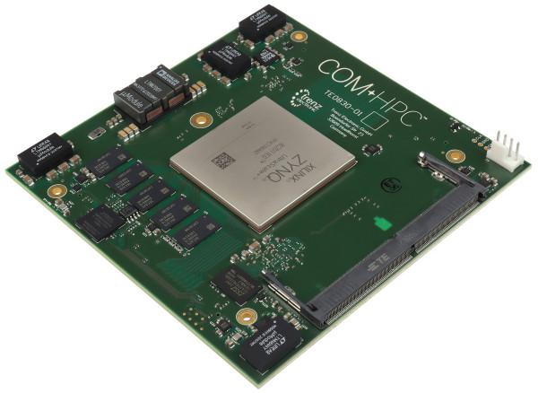 MPSoC-Modul mit Xilinx Zynq UltraScale+ ZU11EG-1I, COM-HPC Standard, 12 x 12 cm