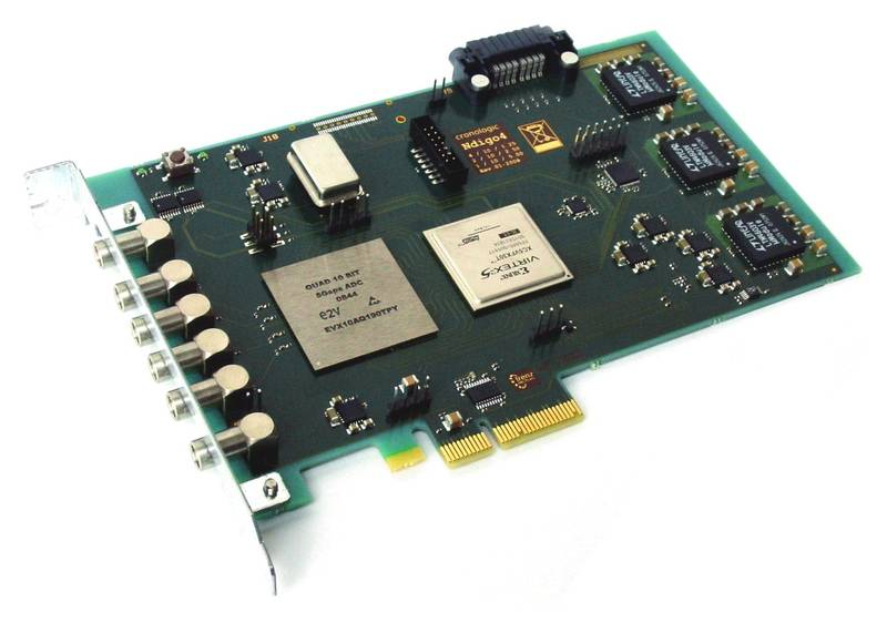 4-channel Flash ADC | Projects | Company | Trenz Electronic GmbH