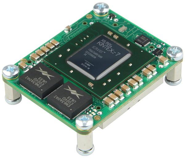 FPGA-Modul mit Xilinx Kintex-7 XC7K410T-2CF, 4 x 5 cm standard footprint