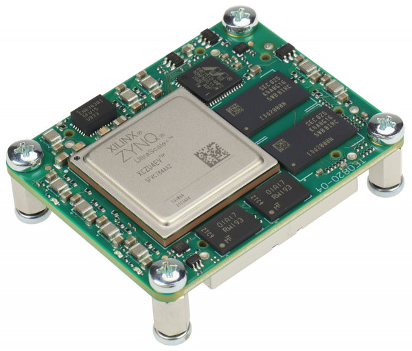 MPSoC-Modul mit Xilinx Zynq UltraScale+ ZU4EV-1E, 2 GByte DDR4 SDRAM, 4 x 5 cm